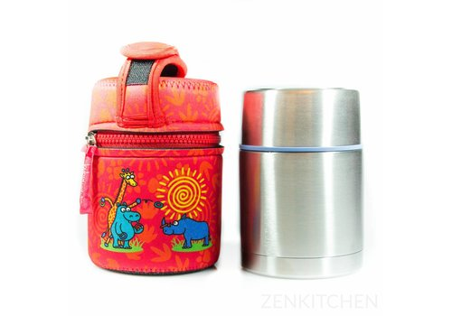 LAKEN Thermo Food Flask (0.5L - Kukuxumusu Rino)