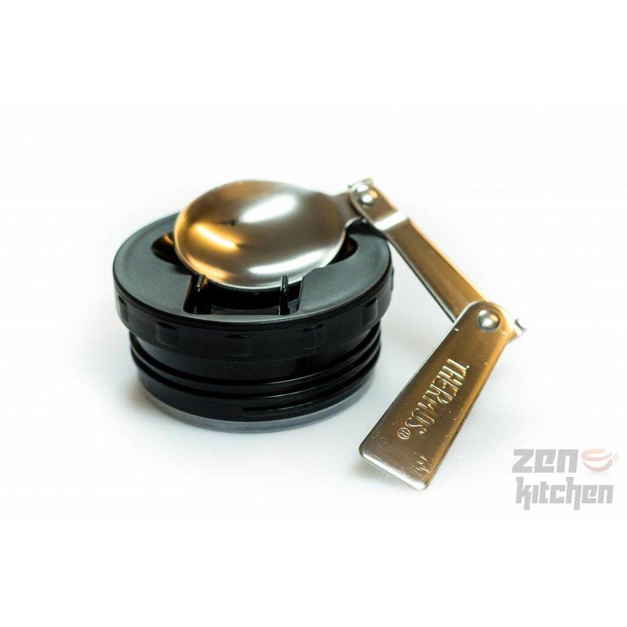 Stainless King™ Food Jar (0.47L - Spacegrijs)-4