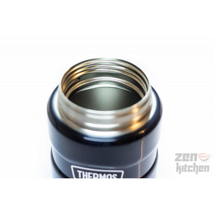 Stainless King™ Food Jar (0.71L - Metallic Blauw)