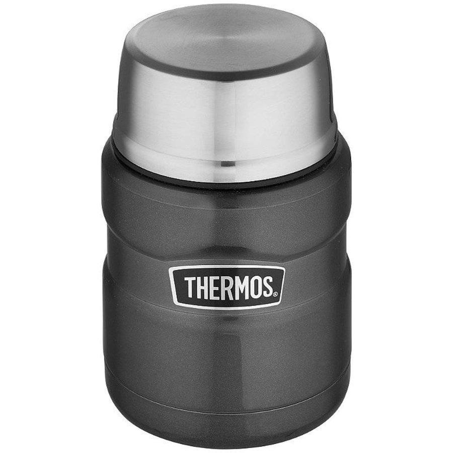 Stainless King™ Food Jar (0.47L - Spacegrijs)-1
