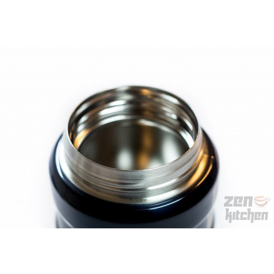 Stainless King™ Food Jar (0.47L - Spacegrijs)-6