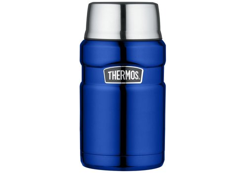 Thermos® Stainless King™ Food Jar (0.71L - Metallic Blauw)