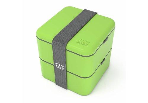 Monbento Bento Box Square (Groen)