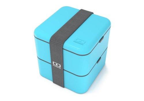 Monbento Bento Box Square (Lichtblauw)