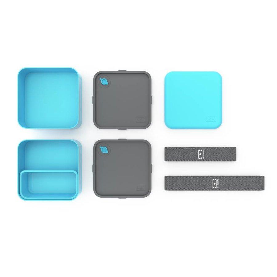Bento Box Square (Lichtblauw)