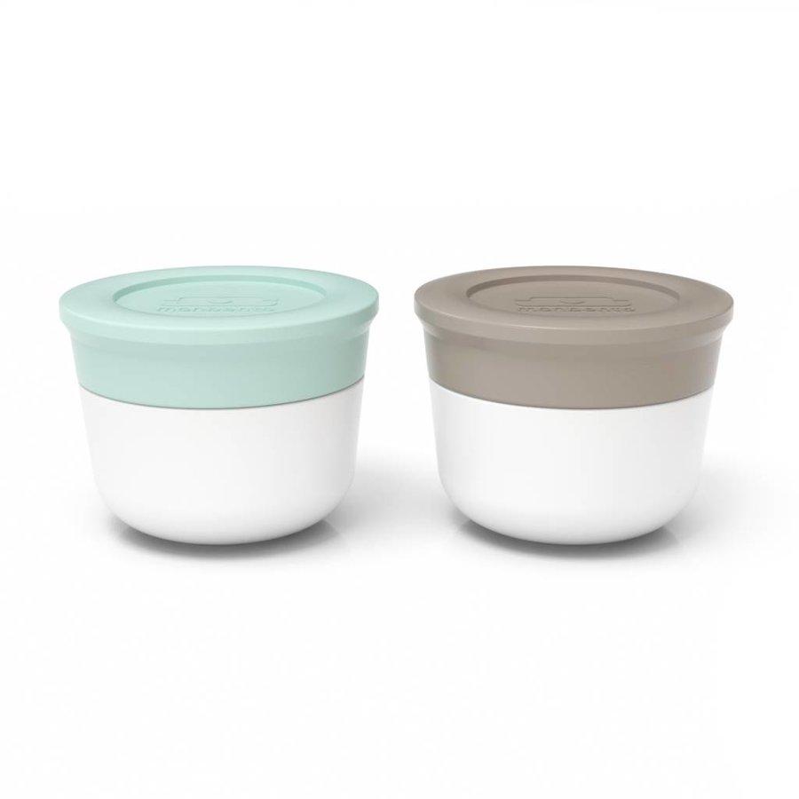 Sauce Cups Small 2x20ml (Matcha/Grijs)