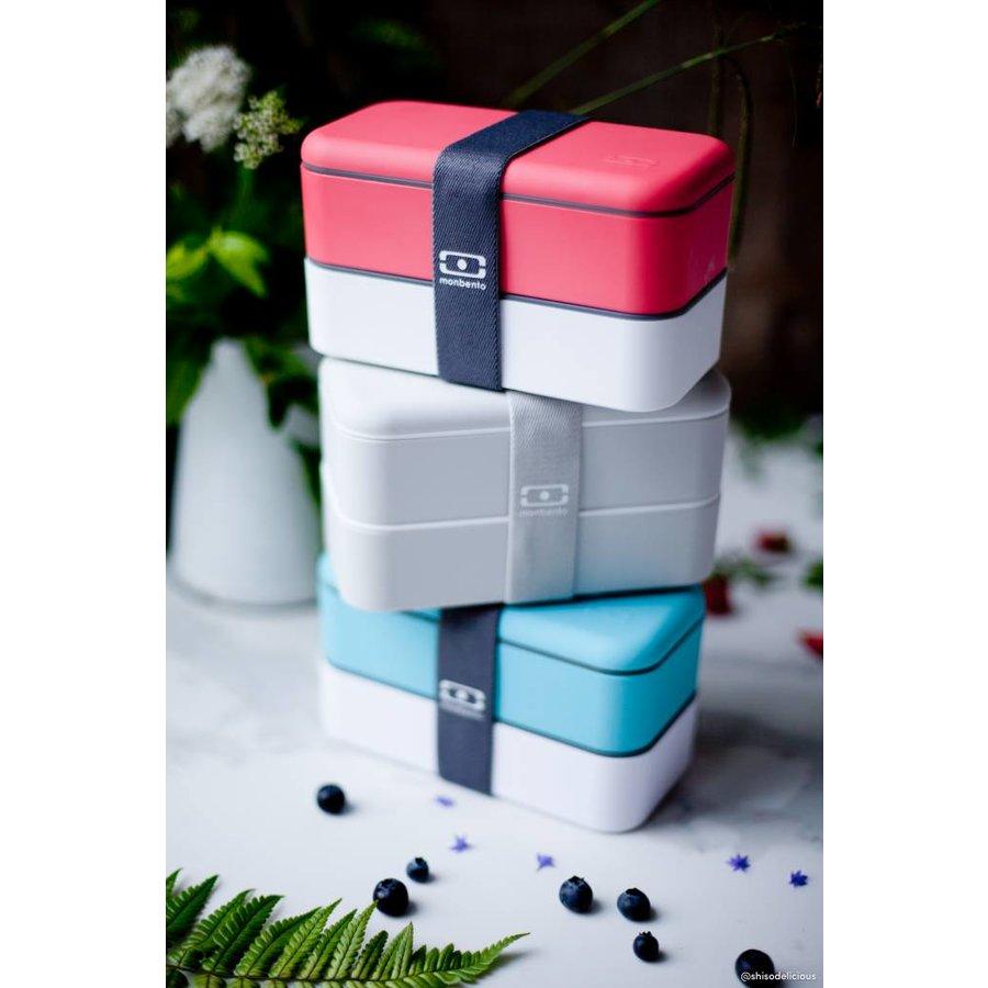 Bento Box Original (Lichtblauw/Wit)
