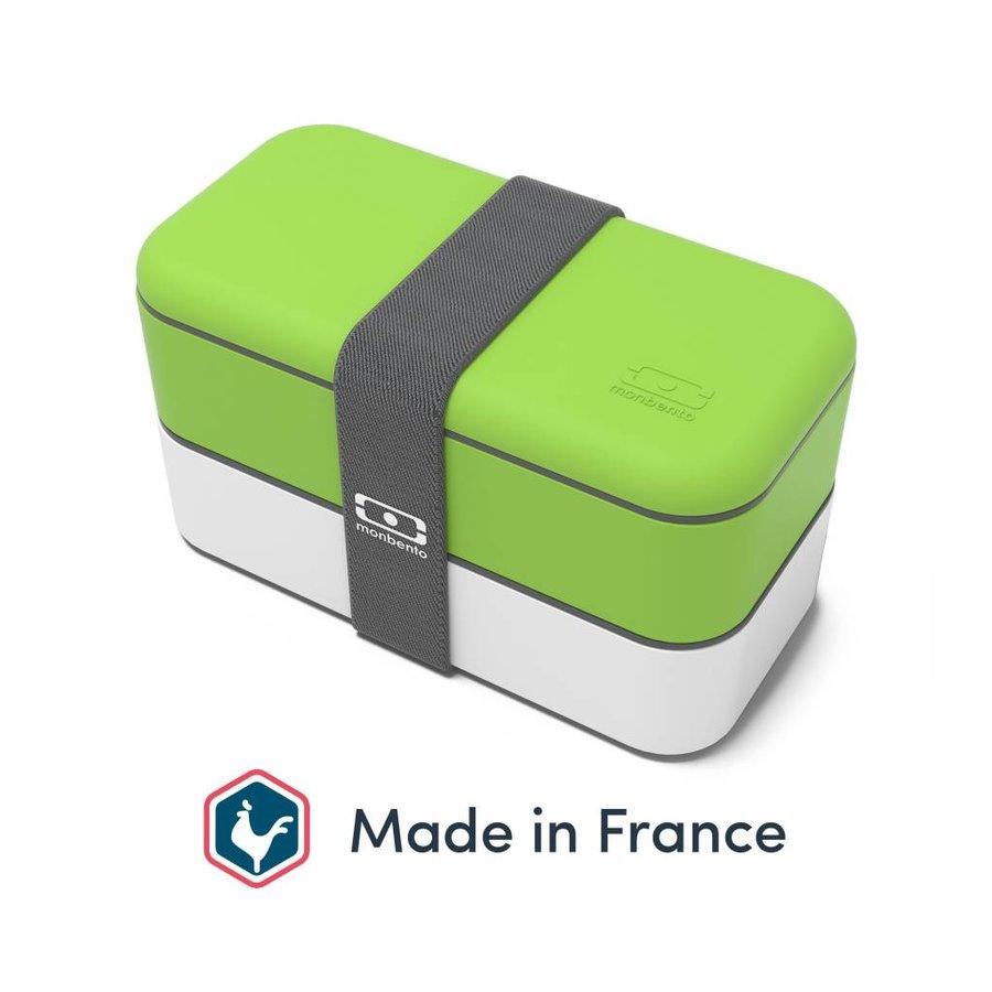Bento Box Original (Groen/Wit)-1