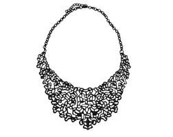 The Diner Necklace - Black