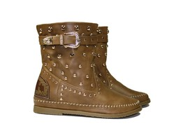 Festival Boots - Beige