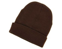 Winter Beanie - Brown