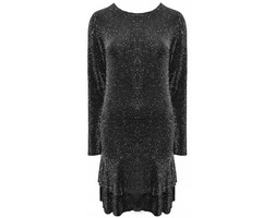 Night Sky Dress - Black/Silver
