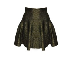 Pretty Little Skirt Gold