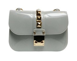 Studs Bag - Light Grey
