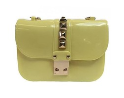 Studs Bag - Spring Yellow