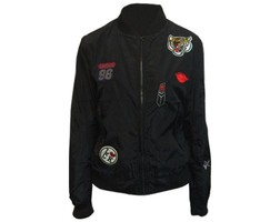Bomber Patch - Black