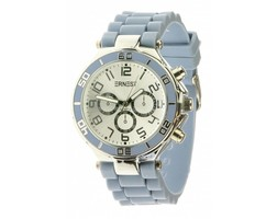 Summer Watch - Silver - Jeansblue