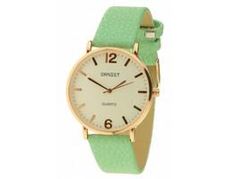 Misty Watch - Rose - Green
