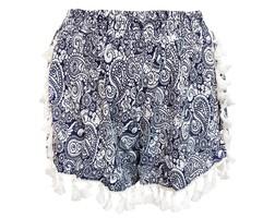 Bohemian Blue Short