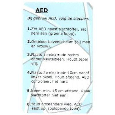 AED checkpas
