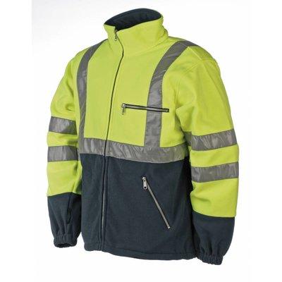 Sioen  496Z Rainier fleece jas (geel)