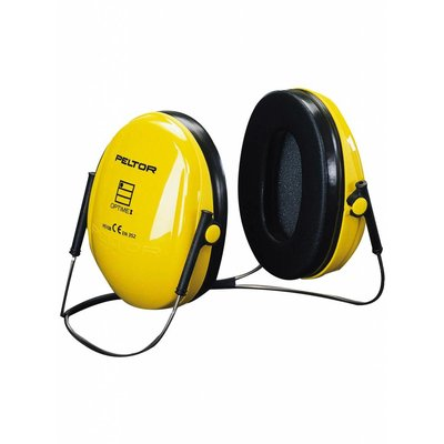 3M Peltor Optime I gehoorkap met nekbeugel