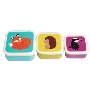 Rex London Snack Boxes Rusty the Fox set of 3