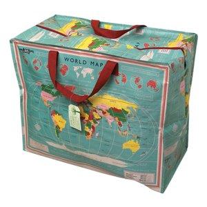 Rex London Jumbo bag World Map