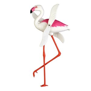 Kitsch Kitchen Flamingo with rotating wings
