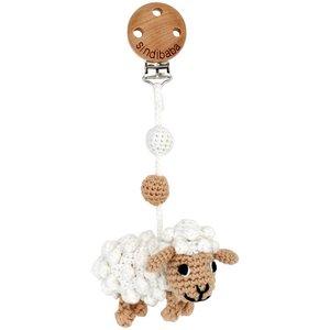 Sindibaba Kinderwagen-Clip mit Schaf