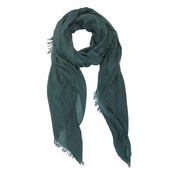 M&K Collection Schal Cotton/Wool green teal