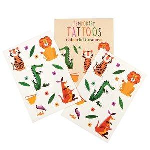Rex London Tattoos Colourful Creatures