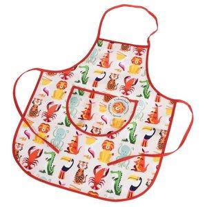 Rex London Childs apron Colourful Creatures