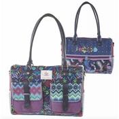 Happiness Hand-shoulder bag medium  Belize Petrol
