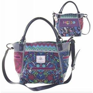 Happiness Hand-shoulder bag  Belize Petrol