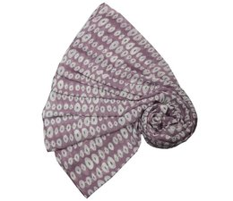 M&K Collection Schal Linked Ovals purple