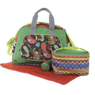 Happiness Diaperbag Red/Brown