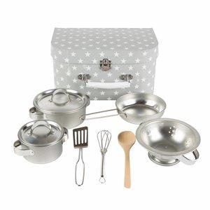Sass & Belle Küchen-Box Grey Stars