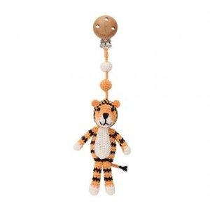 Sindibaba Kinderwagen-Clip mit Tiger