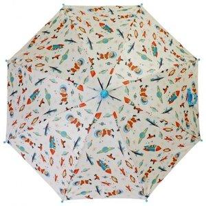 Powell Craft Kinder-Regenschirm Space Rocket