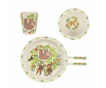 Sass & Belle Kindergeschirr Set Bamboo Treetop Friends