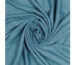 M&K Collection Schal Cotton/Wool Powder blue teal