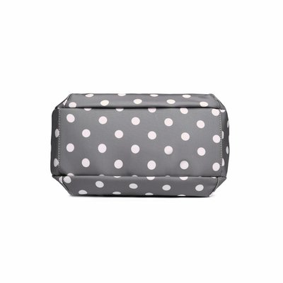 Blossify by Blossify Handtasche Carry-All Bag Happy Dots grey