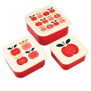 Rex London Snack-Boxen 3-Set Vintage Apple