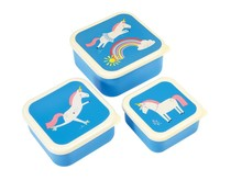 Rex London Snack-Boxen 3-Set Magical Unicorn