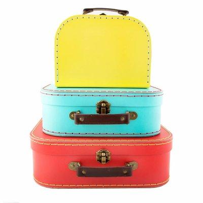 Sass & Belle Cases Bright Retro Set of 3