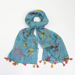 M&K Collection Scarve Olivia turquoise