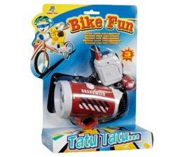 Bike Fun brandweer sirene met microfoon
