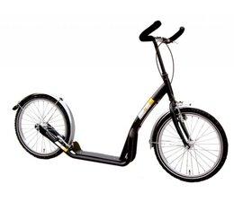 Bike2go grote autoped zwart 10+