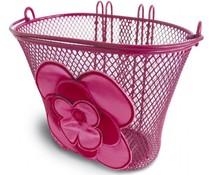 Basil tassen Basil Jasmin Basket stuurmandje met haken roodroze